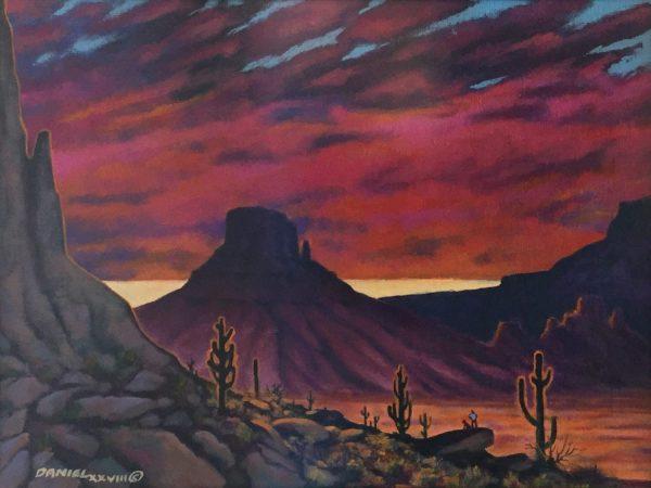 Eternal Splendor Original Oil Painting Tom Daniel Fine Art