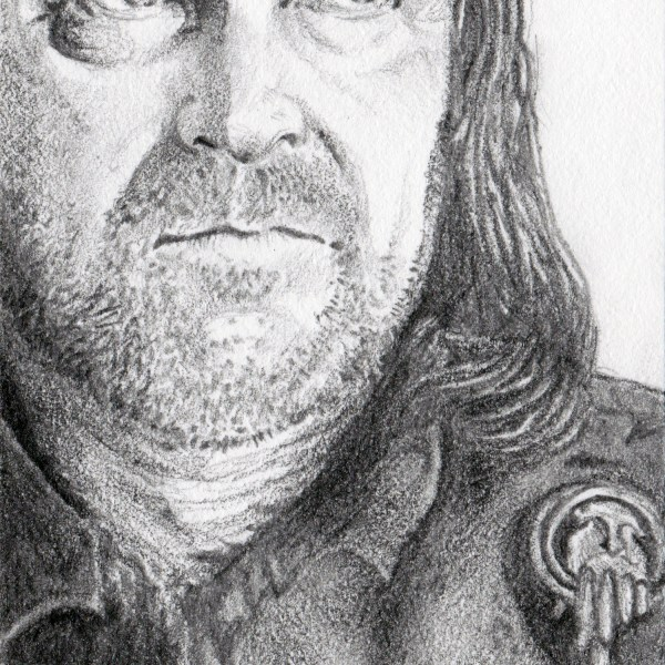Ned Stark Sketch Card (Detail) by Tom Deacon