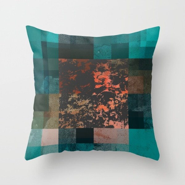 Past Forward Throw Pillow