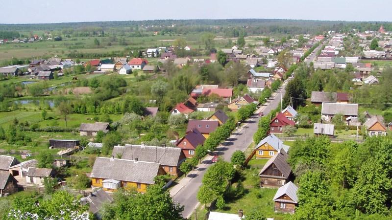 Białowieża-Stoczek-street