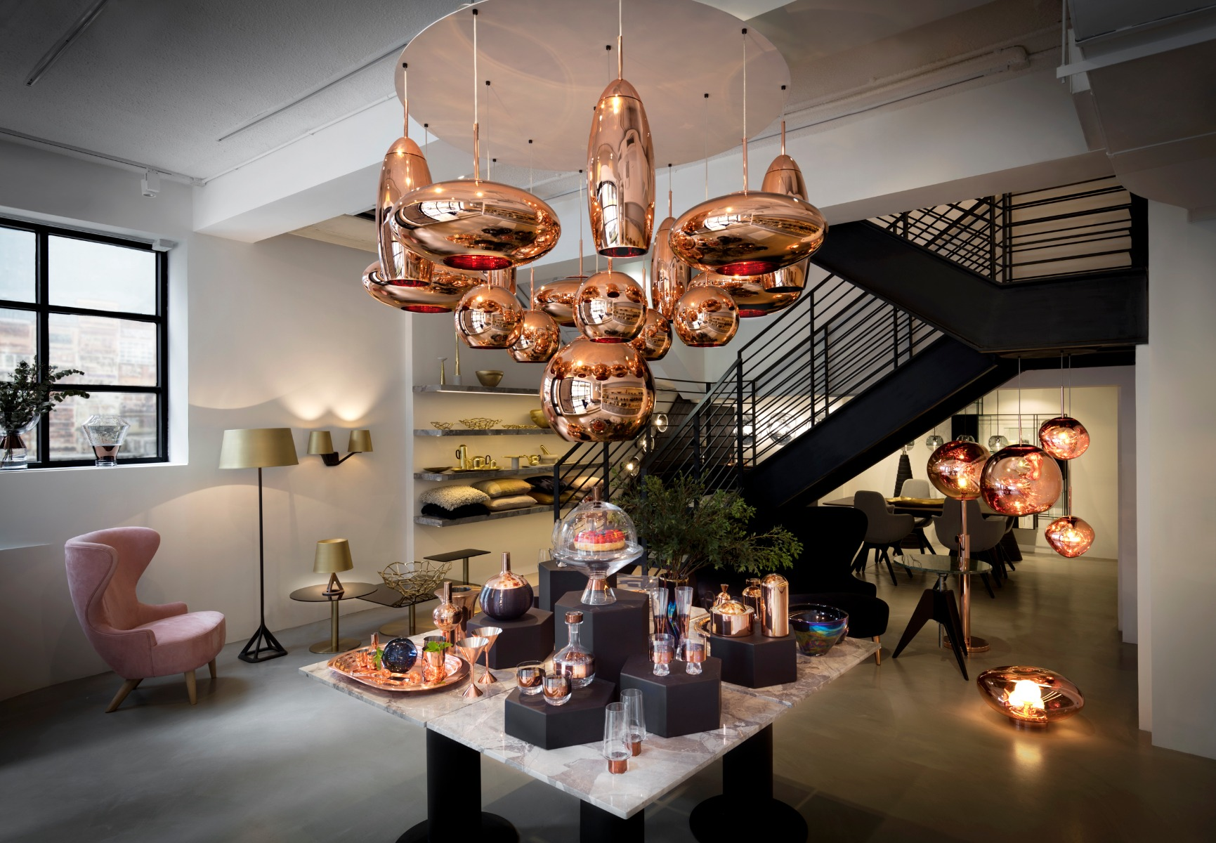 copper pendant light kitchen free standing sink unit hong kong shop opens