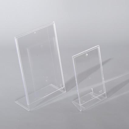 Portafoto e tasche in plexiglass