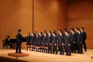 中学文化発表会