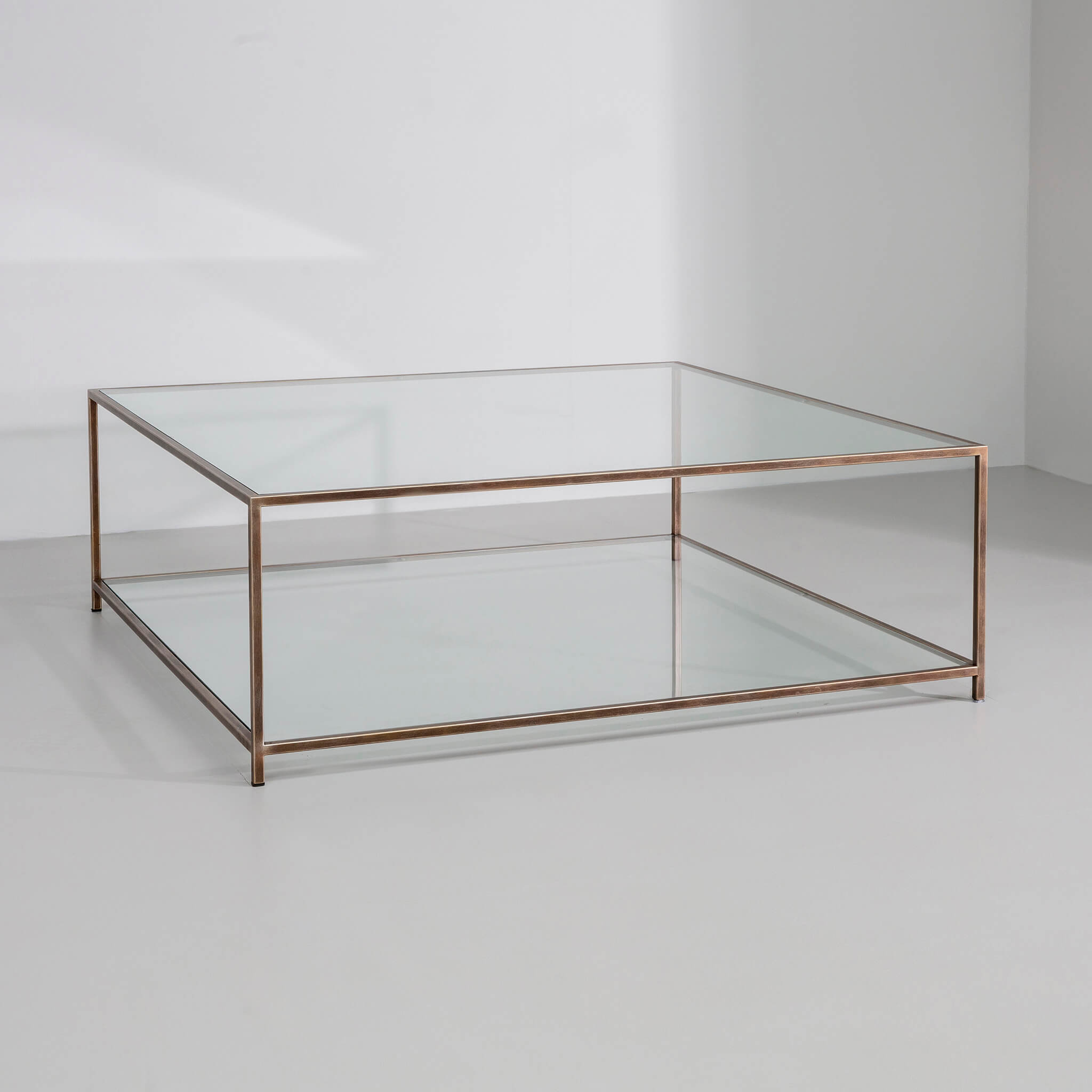 madison rectangular square coffee table