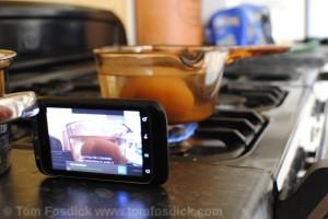 Cooking With IP Webcam