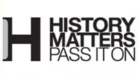 The History Matters campaign logo