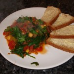 Lentil and Chickpea Casserole