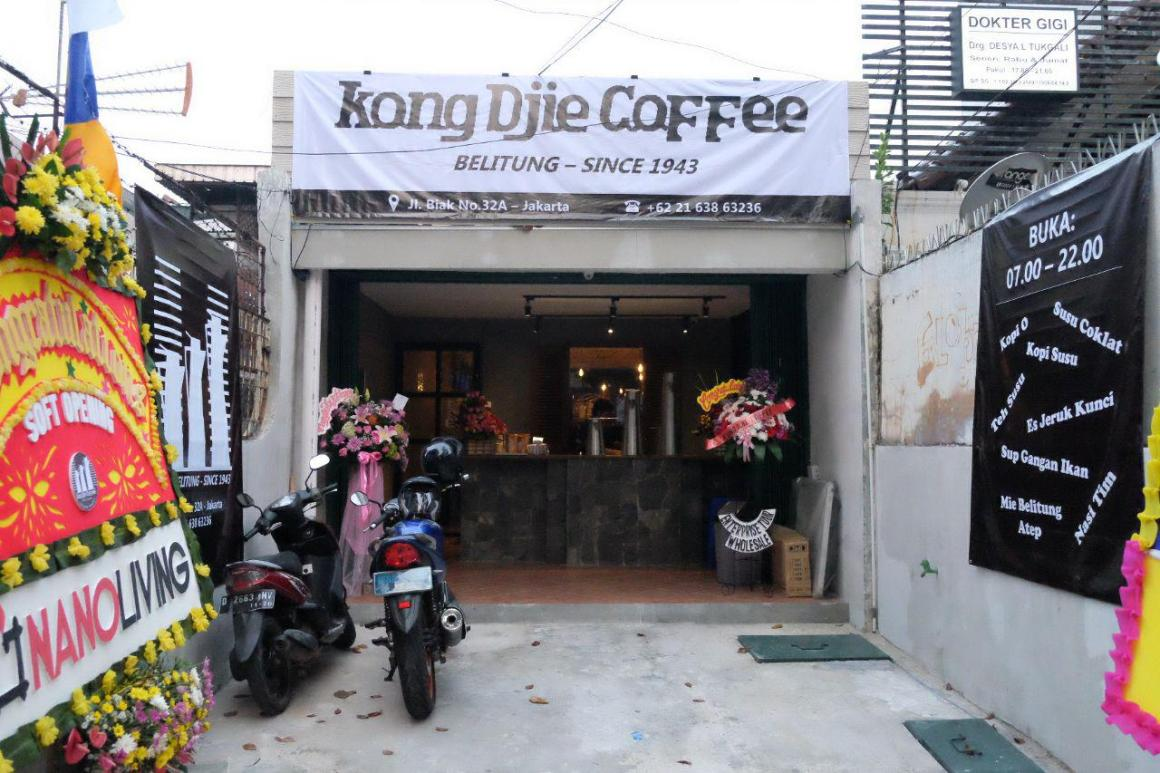 Soft Launching Kong Djie Coffee