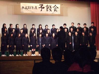 富校日記 : 2011年 : 123期 予餞會