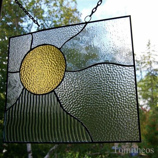 Stainglass Sun