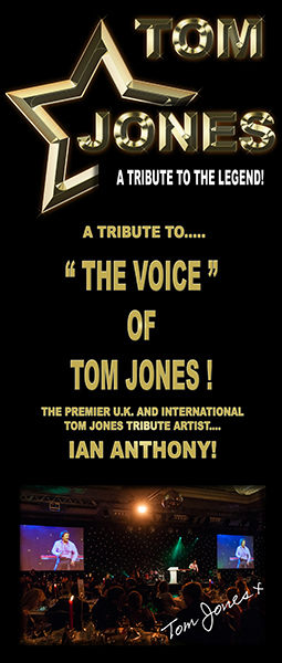 tom jones tribute pulll up banner image