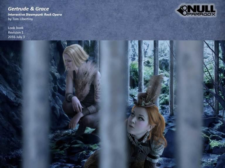 Null Paradox~Gertrude & Grace Concept | Tom Libertiny Illustration | Ana Cruz