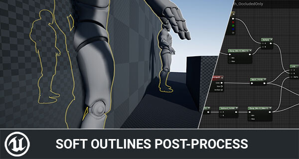Rendering Soft outlines in Unreal Engine 4 - Tom Looman