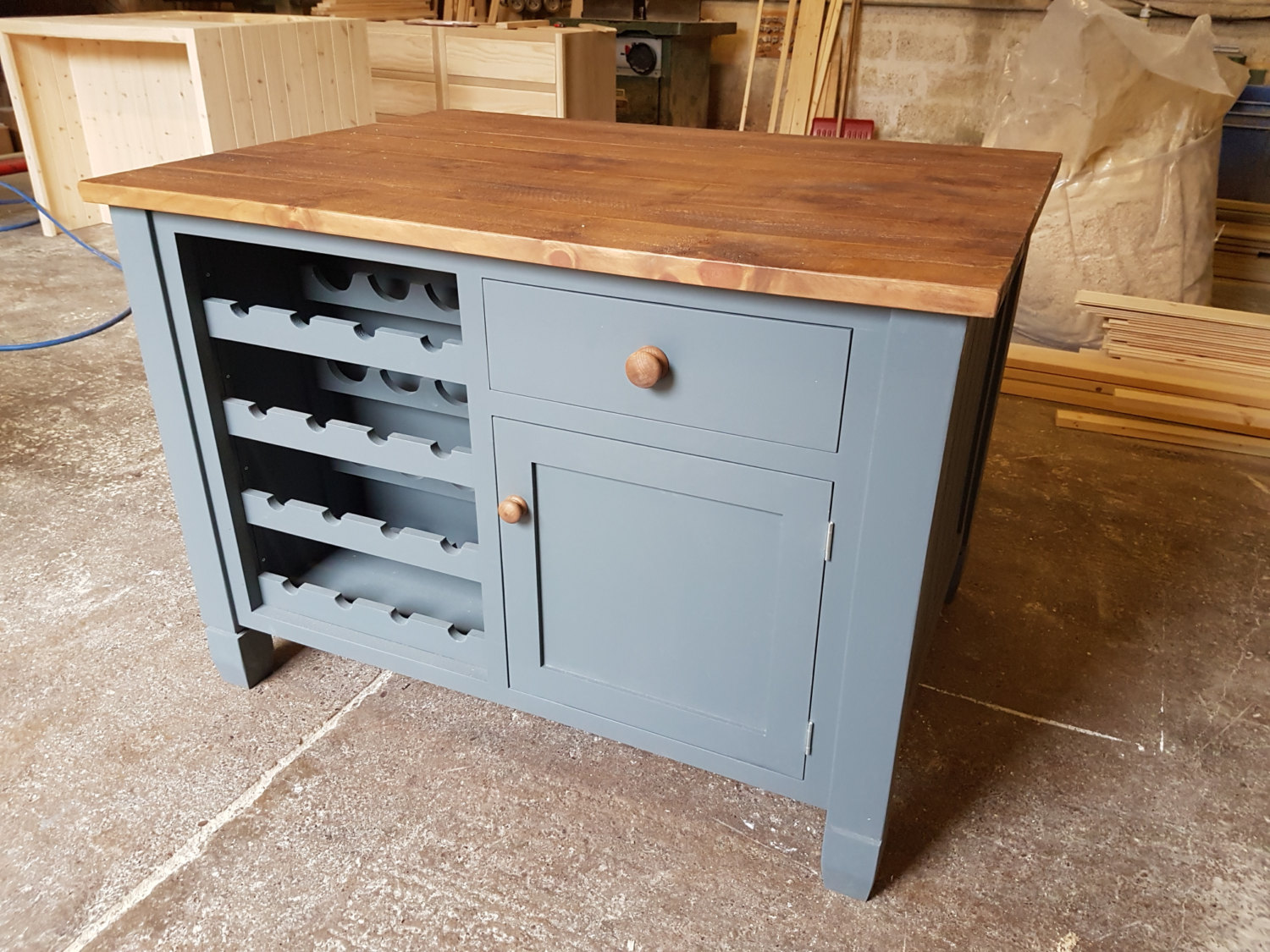 handmade kitchen islands sliding drawers for cabinets tom marsh bespoke any design or specification
