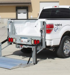 galvanized g2 series pickup liftgate on ford f 150  [ 1920 x 1080 Pixel ]