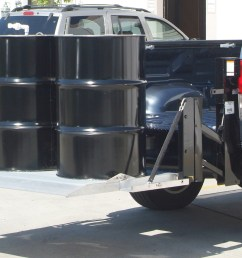 g2 series pickup liftgate lifting two oil drums  [ 1920 x 1080 Pixel ]