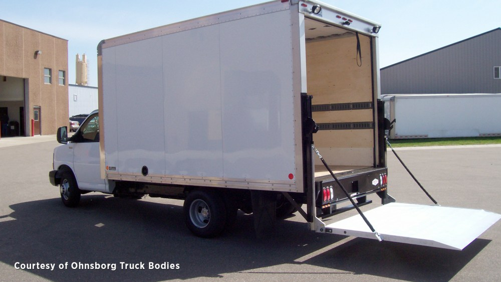 medium resolution of  a tommy gate railgate liftgate for straight truck