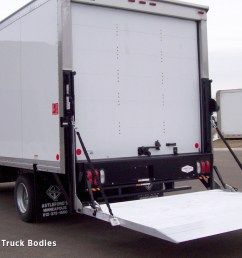 liftgate for straight truck standard railgate in the down position [ 1920 x 1080 Pixel ]
