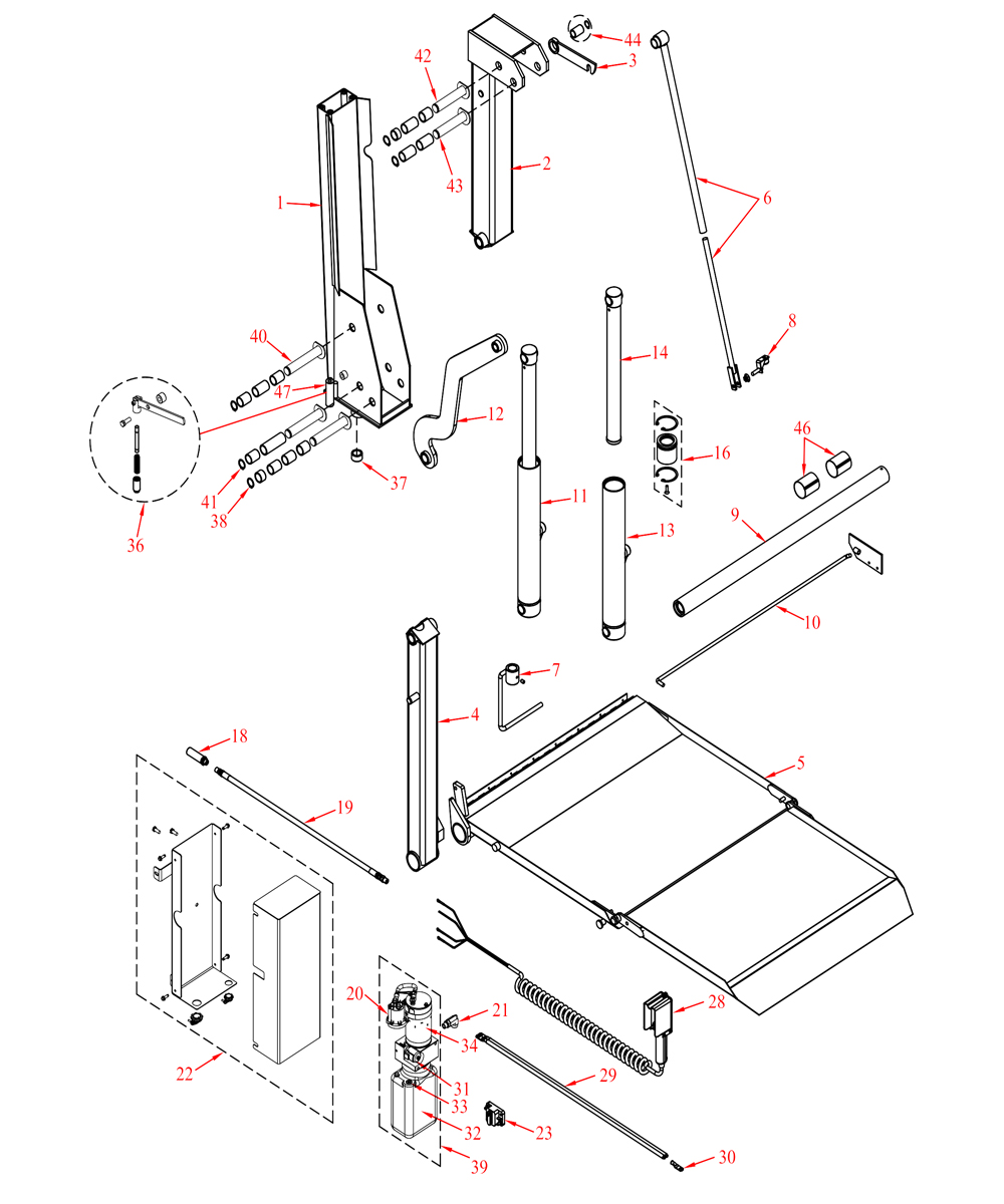 Wiring Diagram For Tommy Lift Tommy Gate Parts Online