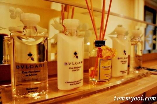 Shangri La Bvlgari Toileterries