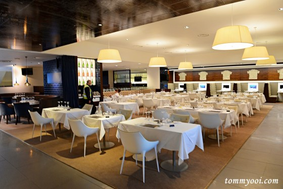 Chairman's Club Exclusive Restaurant at Etihad Stadium