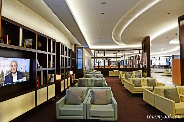 Etihad Airways First & Business Class Abu Dhabi Lounge