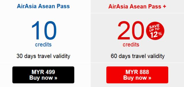 AirAsia AseanPass2