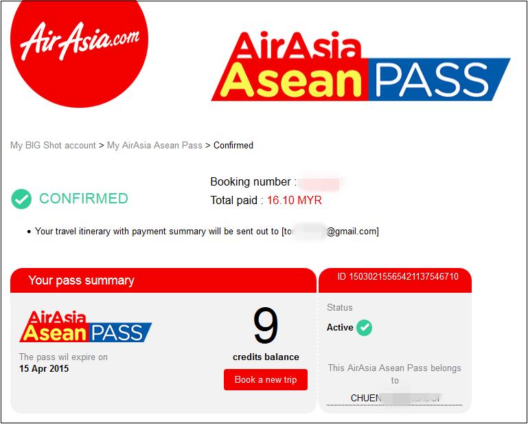 AirAsia Asean Pass 12