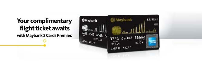 Top 10 travel credit cards to apply for malaysians in 2016 tommy maybank 2 cards premiers reserve american express card is the ultimate card to own for flight redemption as it is the fastest air miles conversion credit reheart Choice Image