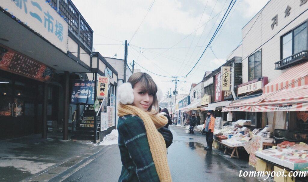 Hakodate market