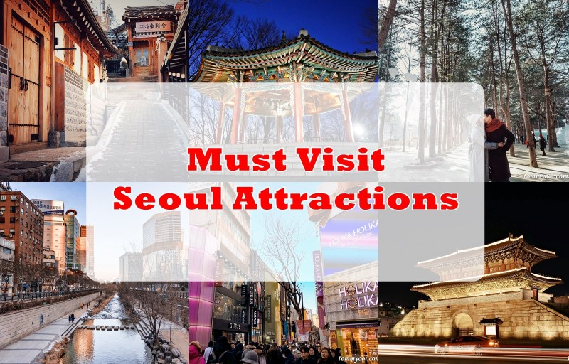 Seoul Subway Map English 2014.20 Must Visit Seoul Attractions Travel Guide Tommy Ooi Travel Guide