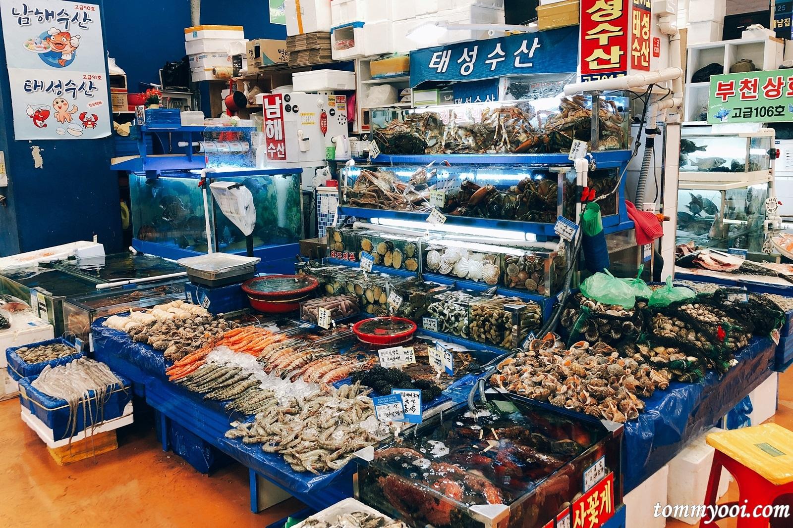 noryangjin fish market price guide