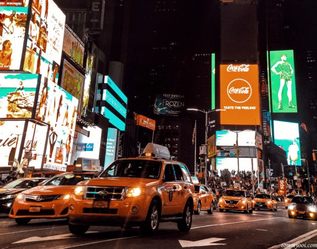 New York Times Square Night View