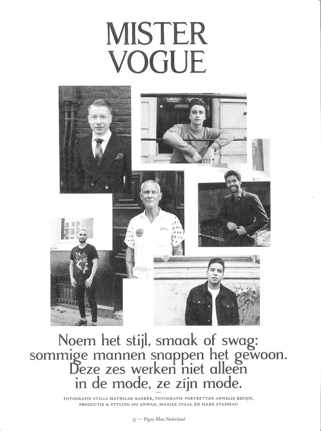 VOGUE MAN NL 1