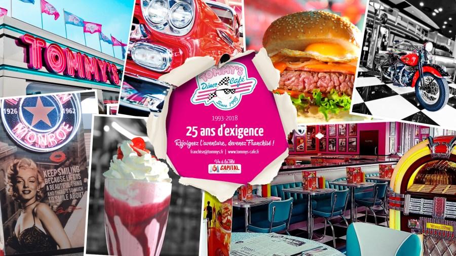 Franchisé(e)s, tentez l'aventure Tommy's Diner !