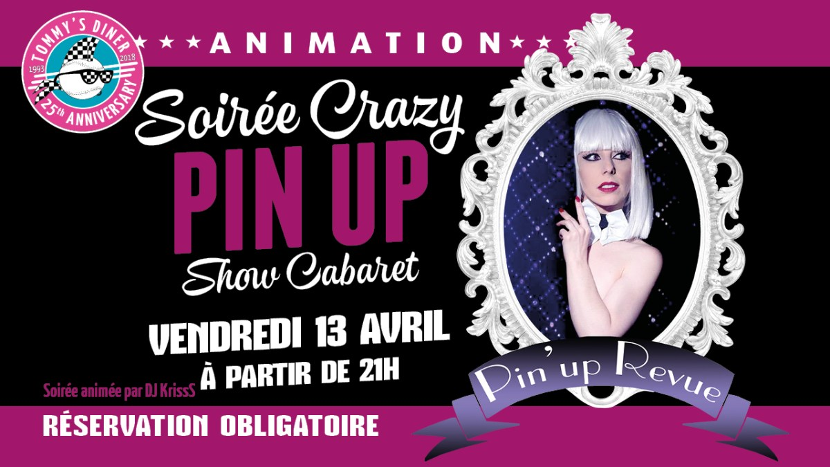 SOIREE CRAZY PIN-UP !