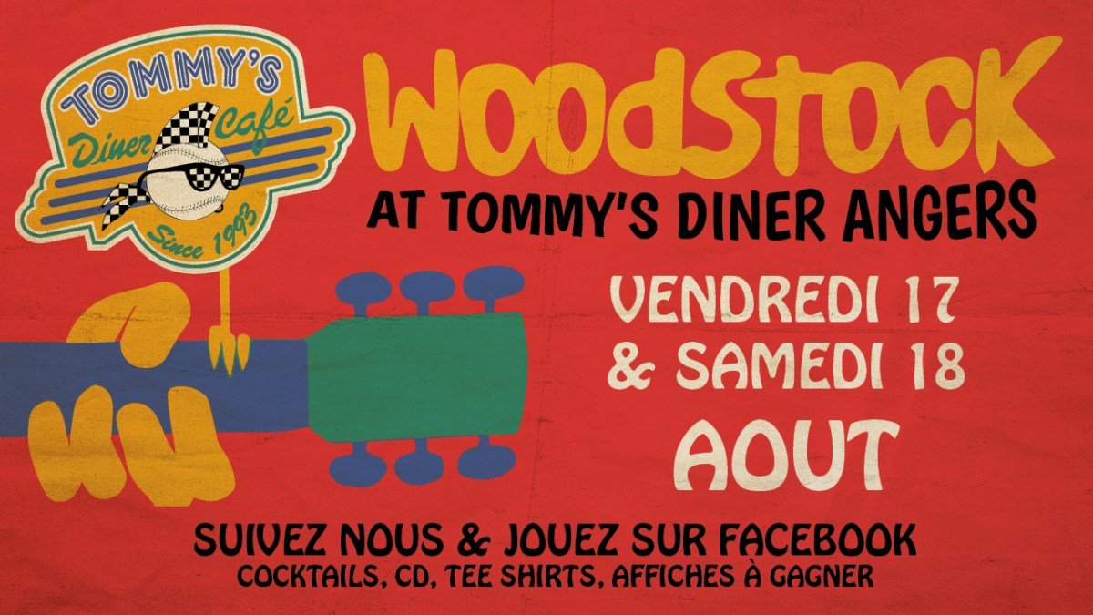 Back to Woodstock at Tommy's Diner Angers