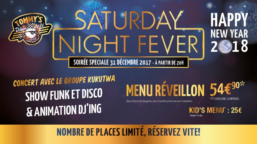 HAPPY NEW YEAR 2018 – Saturday Night Fever