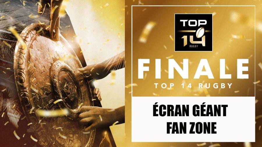 VIVEZ LA FINALE DU TOP 14À L'AMÉRICAINE !