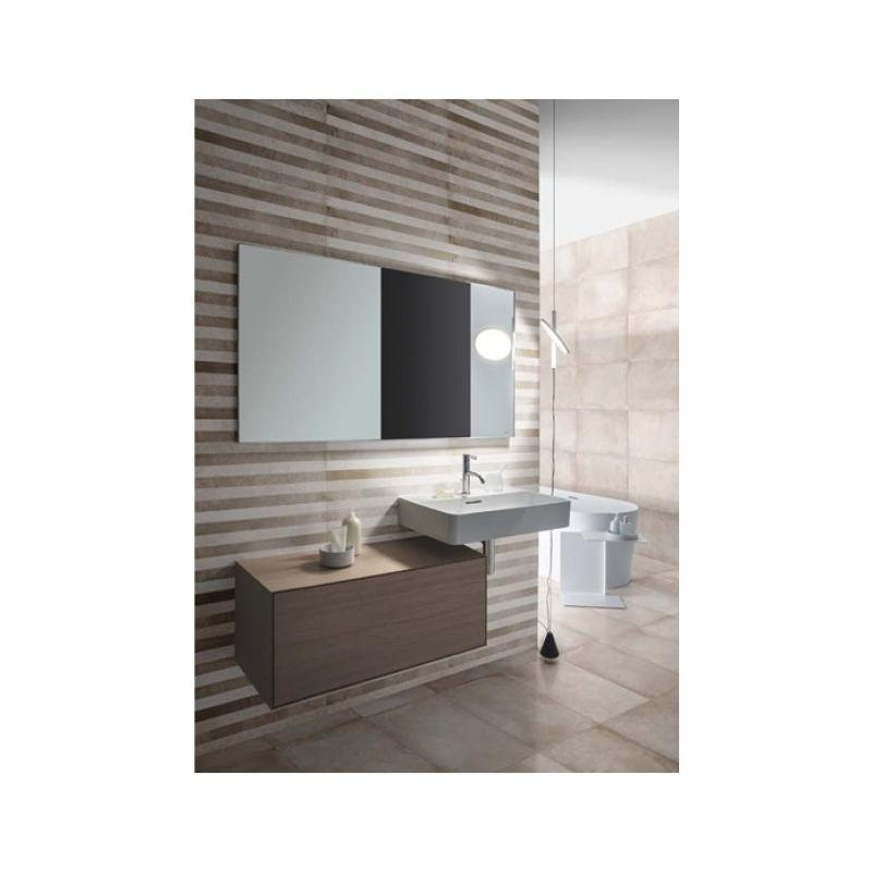 rockport dark grey wall floor decor tile 350mm x 700mm