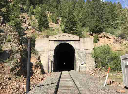 tunnel to west