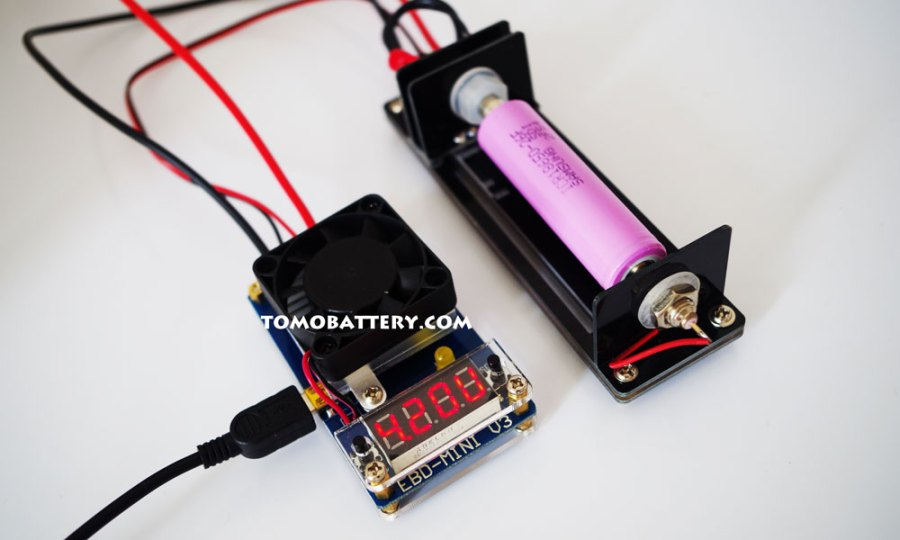 Test of Samsung ICR18650-26F Battery-EBD MINI V3