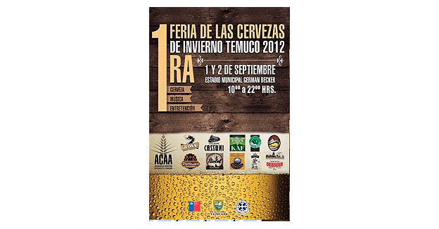 Feria de las Cervezas de Invierno Temuco 2012