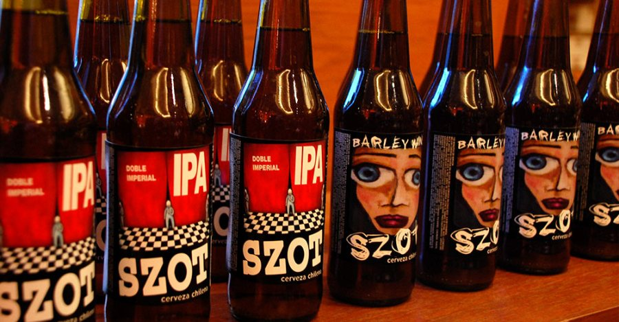Szot Doble Imperial IPA y Barley Wine 2012
