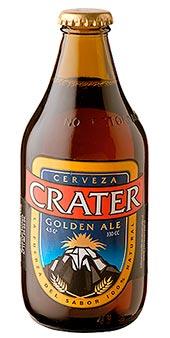 Cerveza Crater Golden Ale