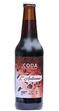 Cerveza Coda L' Autunno American Strong Ale