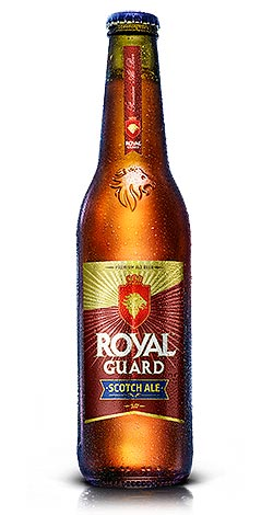 Cerveza Royal Guard Scotch Ale