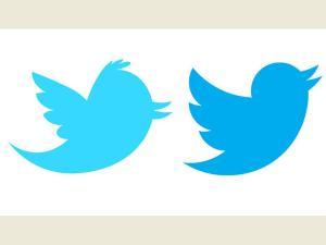 Logo baru twitter