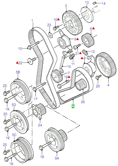 ford fiesta engine timing diagram