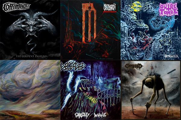 L'Angolo Della Morte: Le 10 uscite Death Metal più significative di Novembre 2018